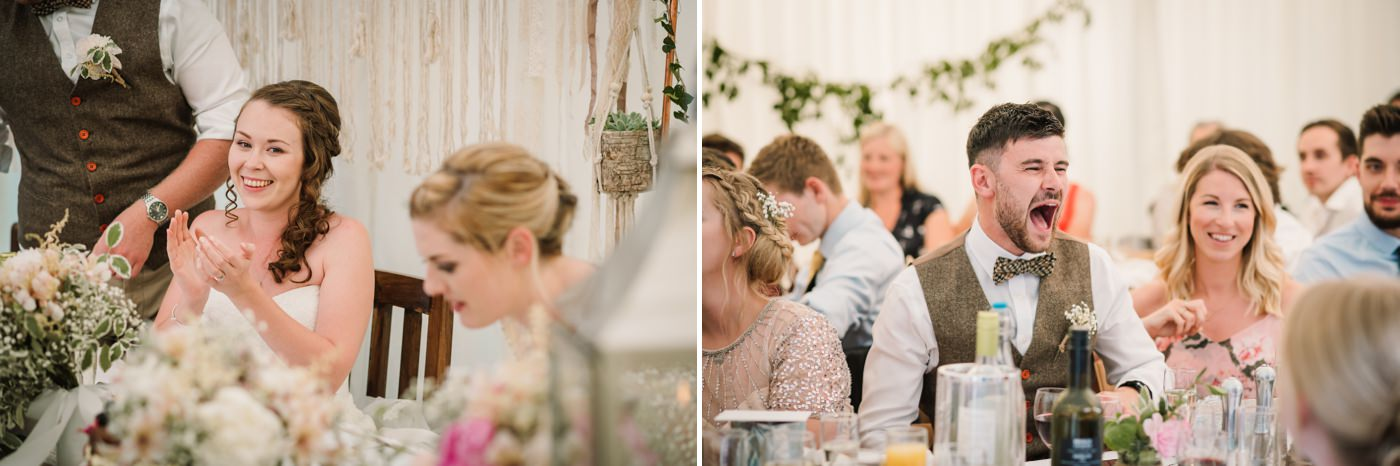 Guest candids by Milton Abbas Wedding Photographer
