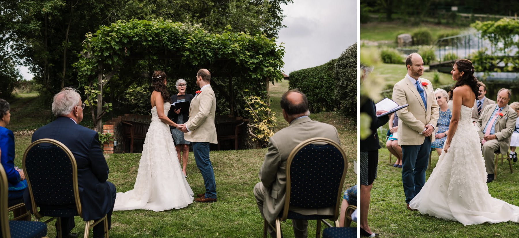 Luccombe Farm Wedding Ceremony