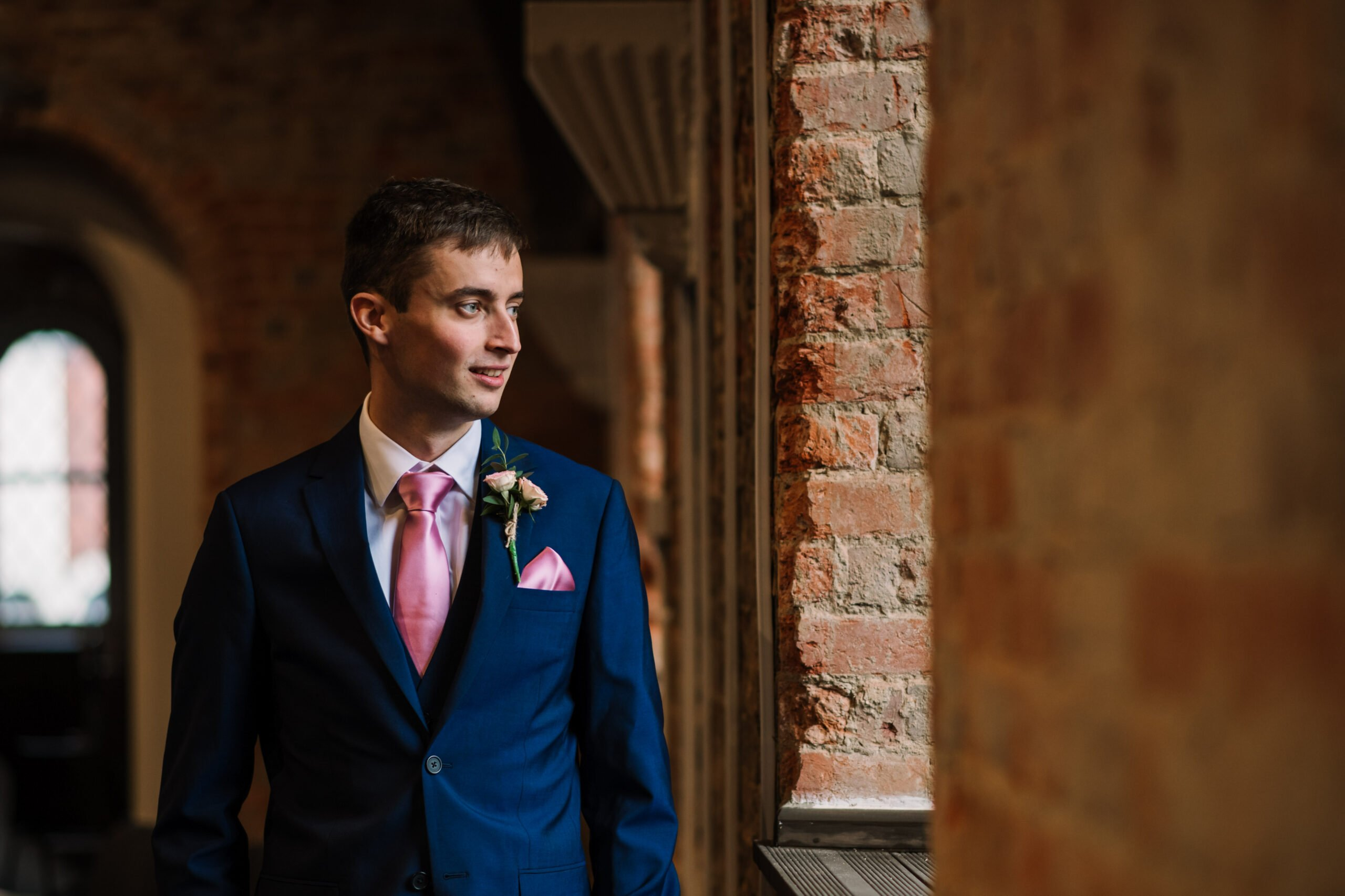 Photograph of Groom at Southampton Wedding