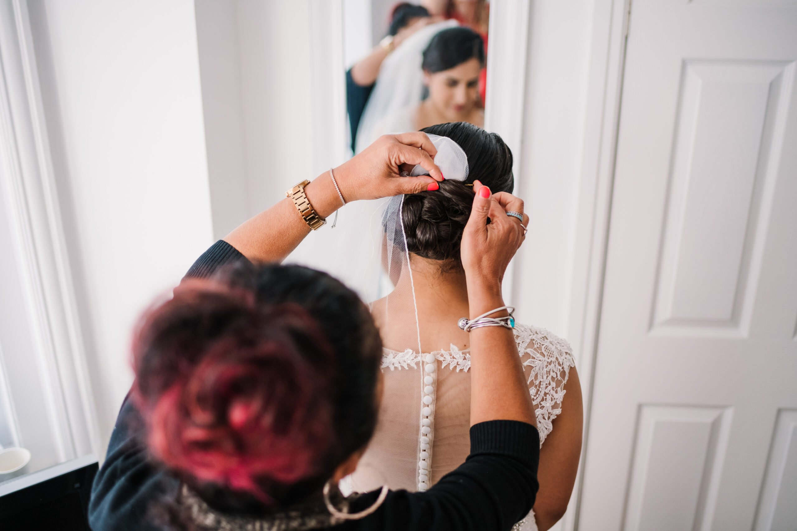 Southampton bridal hair