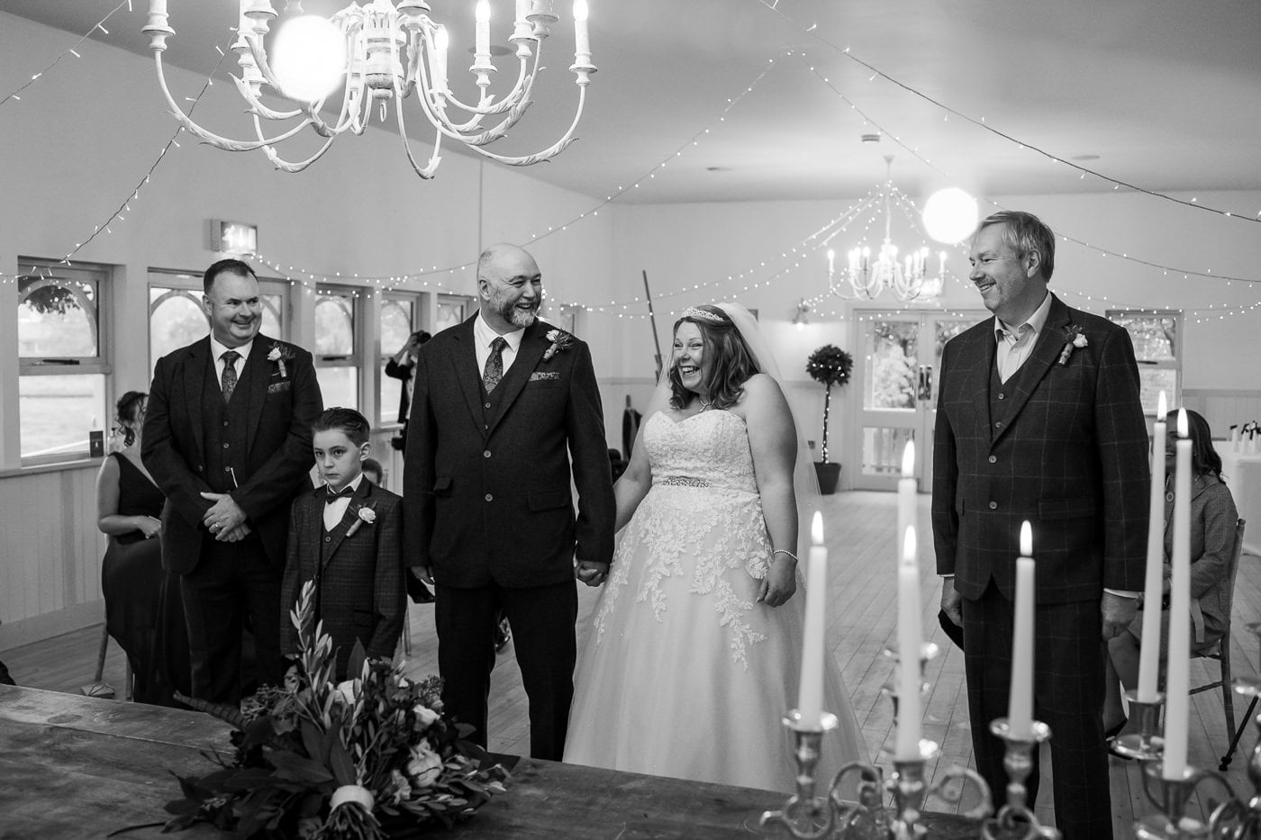 Small 15 person wedding at Kings Arms Hotel