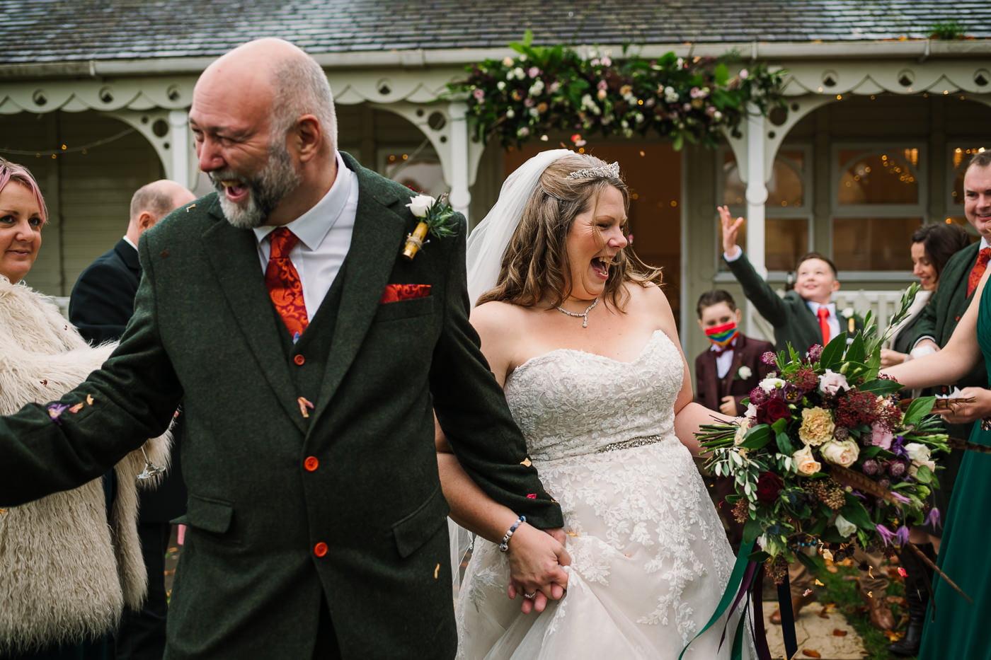 Covid safe wedding in dorset