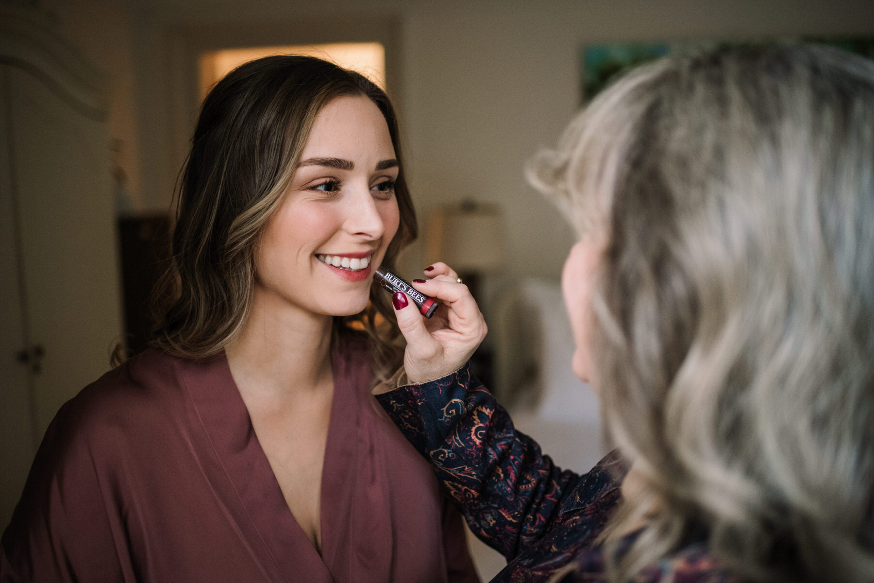 Burts Bees Lipstick at New Forest Micro Wedding