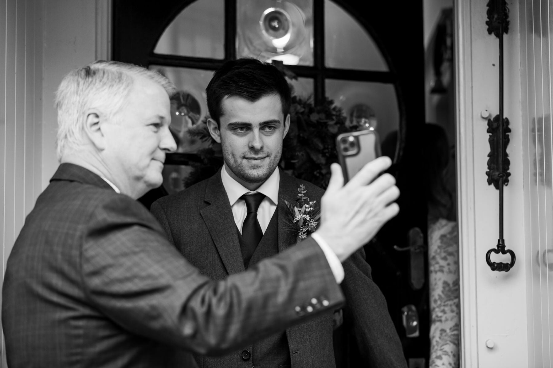 Documentary photography at New Forest wedding