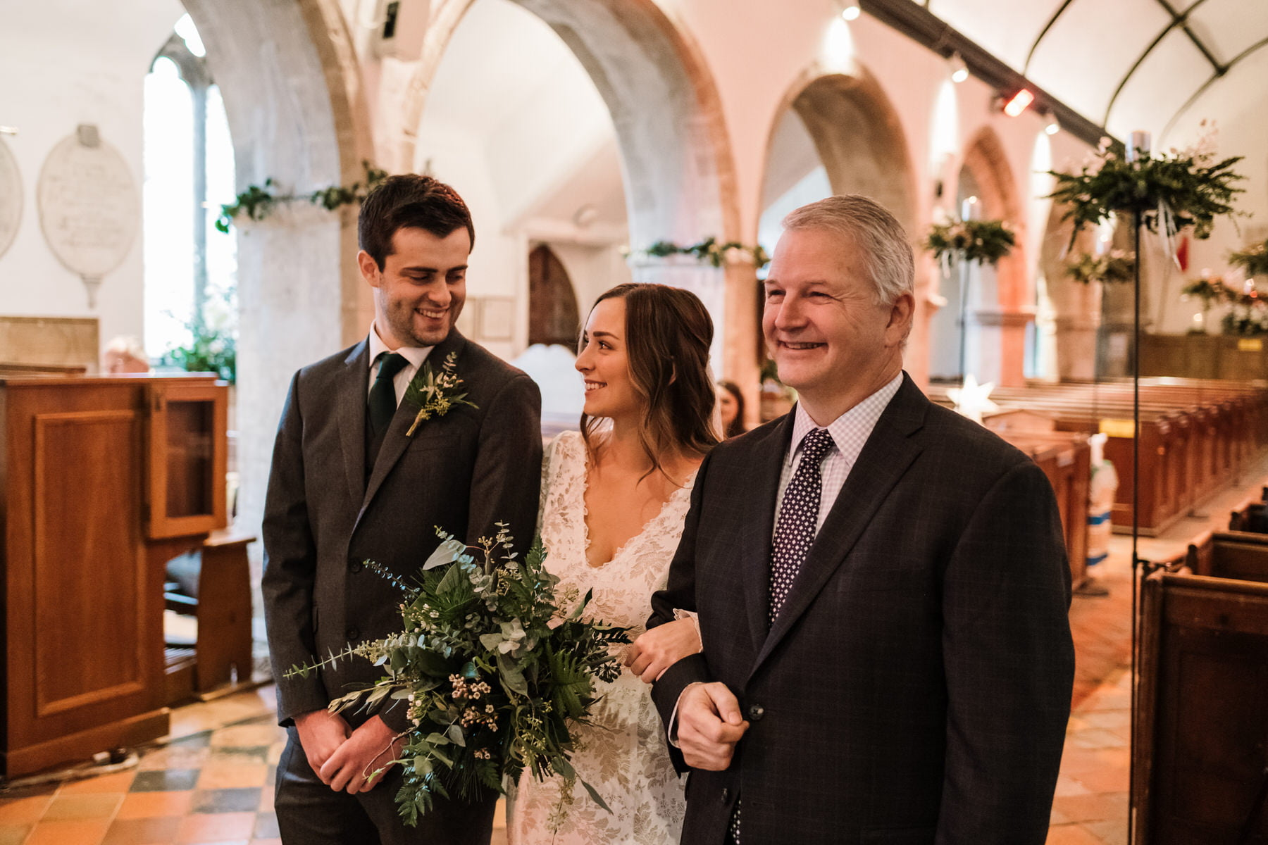 St Johns Church Boldre Wedding