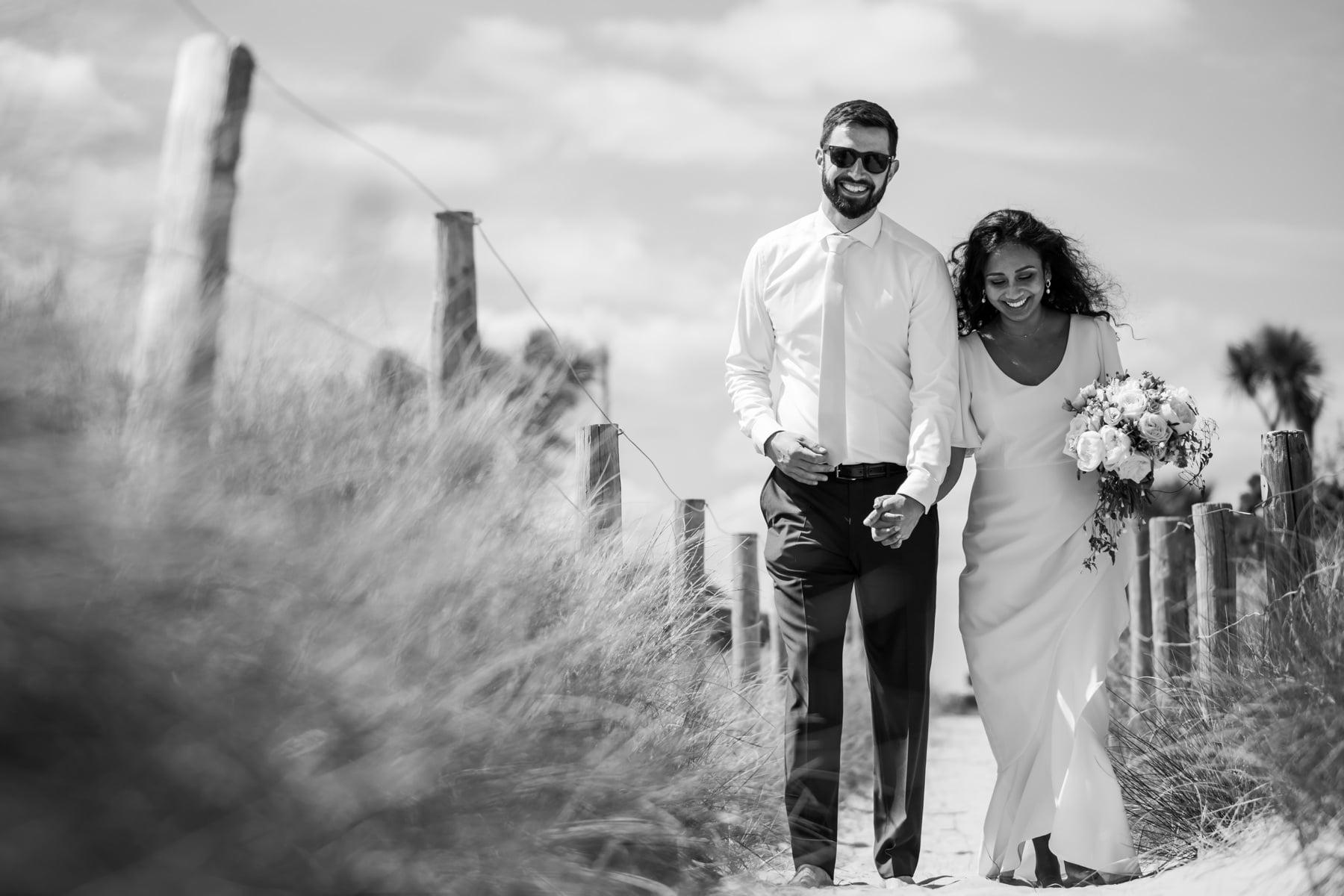 Sandbanks wedding photoshoot