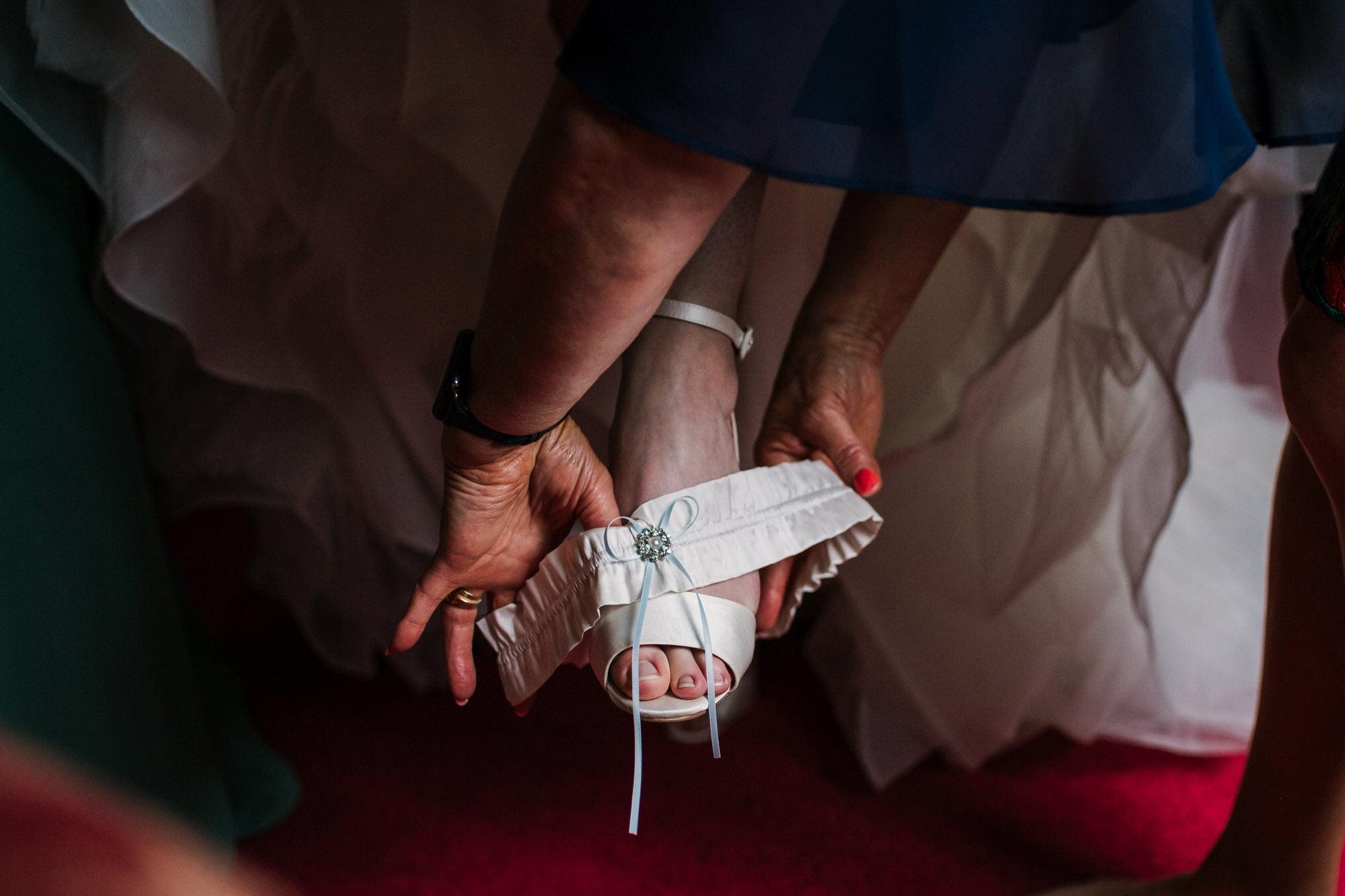 Garter by White Designs Bridal