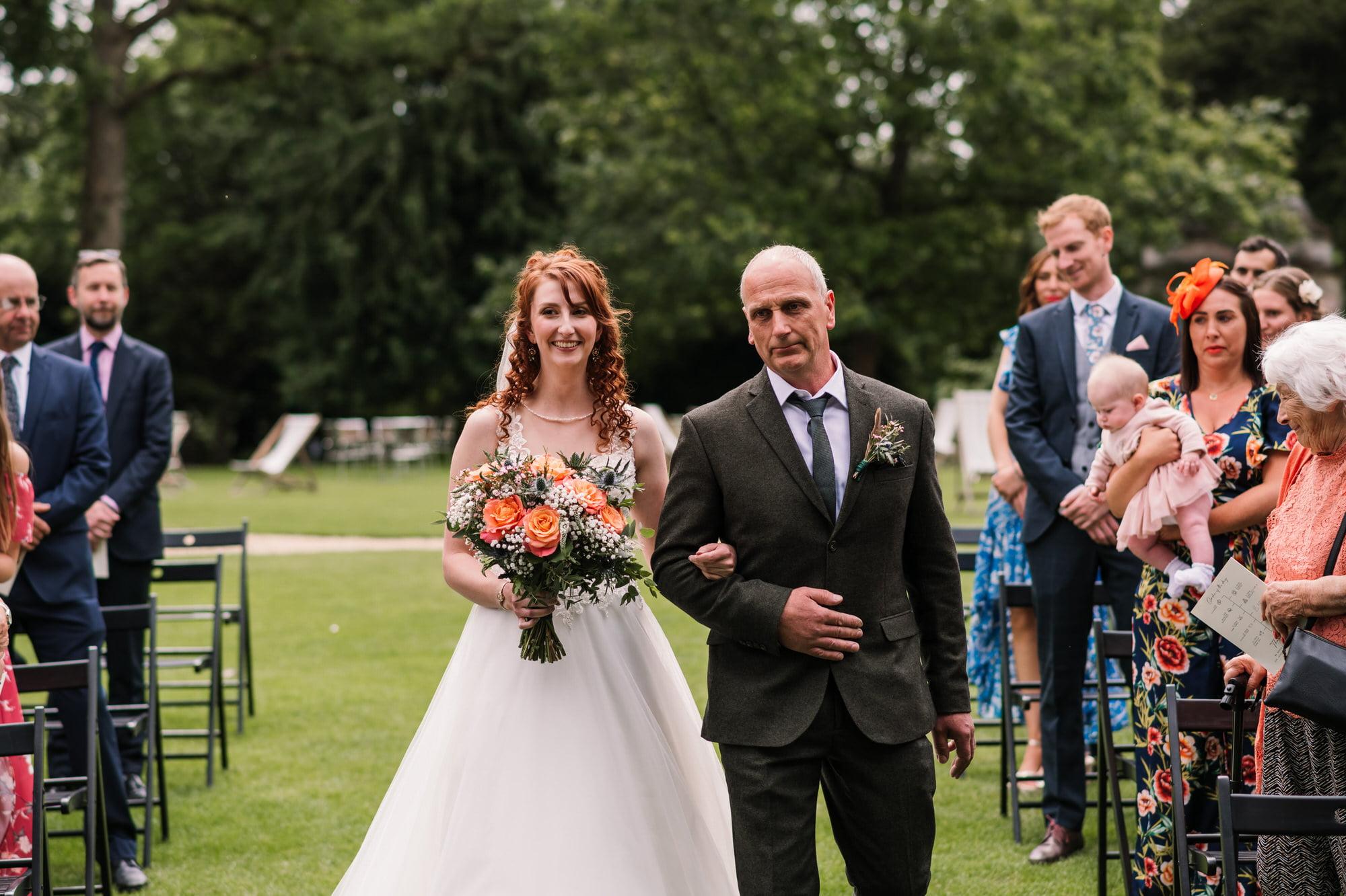Larmer Tree Wedding Ceremony