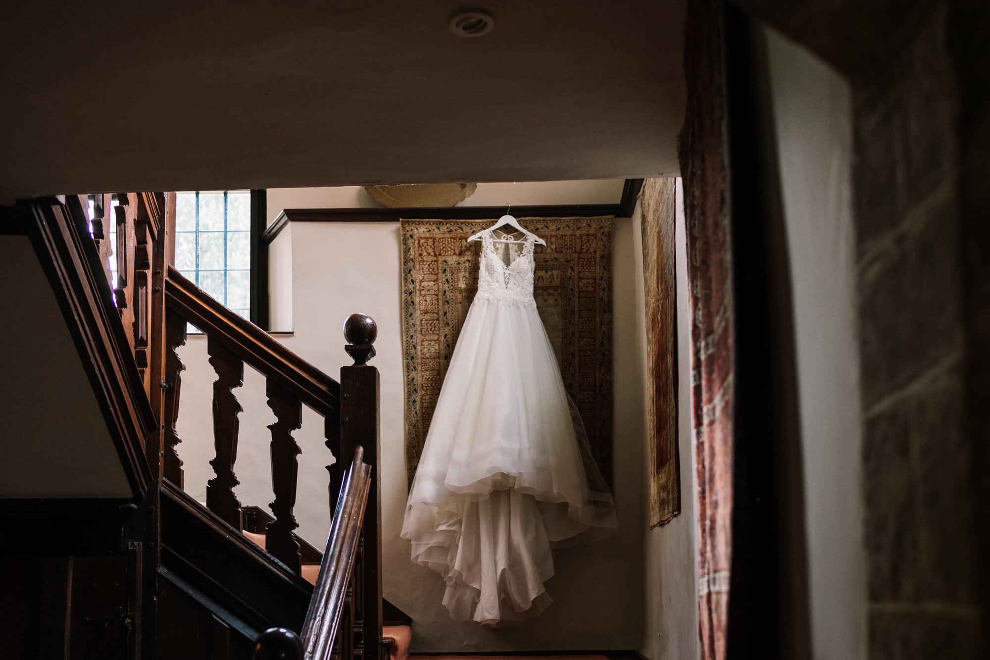 Bridal dress at King Johns House