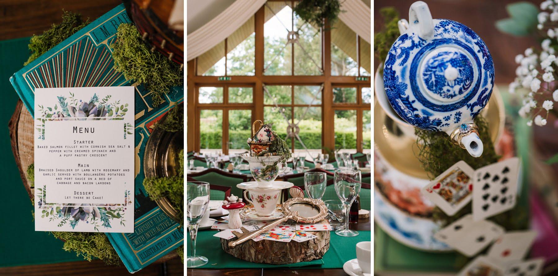 Larmer Tree Wedding decor
